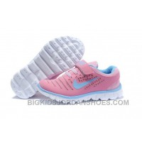 Hot Nike Free Run 2011 Kids Pink Royal Blue White