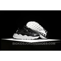 Nike Air Huarache Kids Black White Cheap