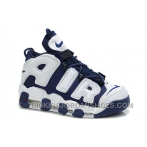 Nike Air More Uptempo Scottie Pippen Shoes Black Top FiaYj